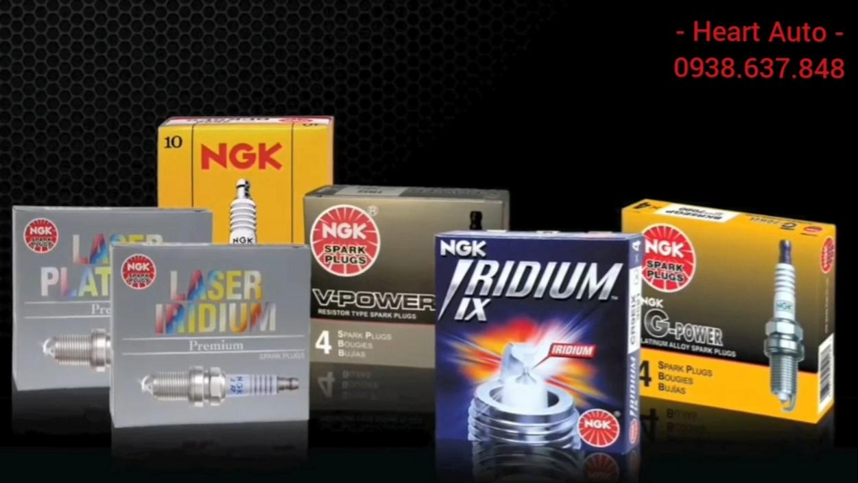 (Có bảng tra mã cho Toyota) Bugi NGK Bạch Kim / Iridium / Laser / Nickel  cho tất cả các dòng xe Toyota