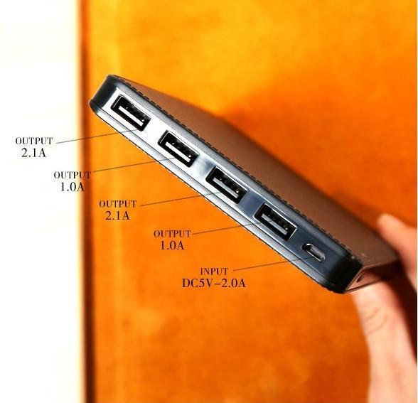 Pin Dự Phòng Remax Proda Notebook 30000mah 4 cổng USB