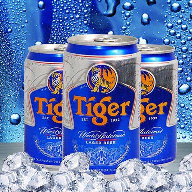 Thùng bia Tiger 24lon 330ml/lon