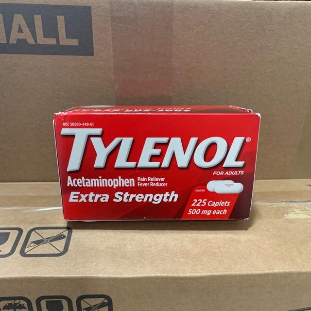 Vỏ Hộp Đựng Tylenol 500Mg