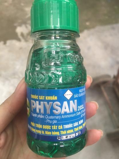 Physan lạnh mới 100ml
