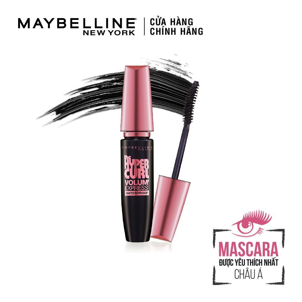 Mascara làm dài và cong mi Maybelline New York Hyper Curl 9.2ml