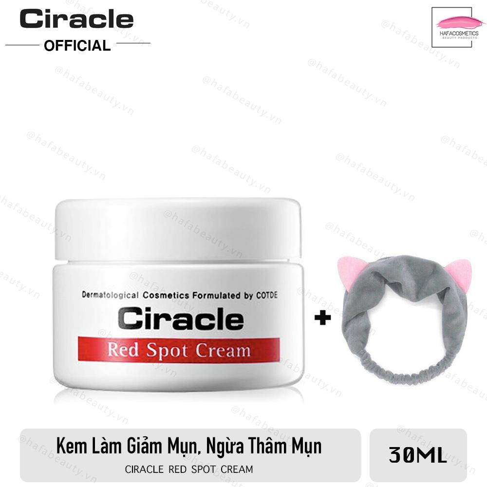 Kem đặc trị mụn sưng đỏ, mụn mủ Ciracle Red Spot Cream 30g