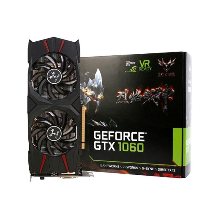 VGA Colorful GTX1060 iGame 3G D5 2 Fan Cũ (Full Box - Còn BH Hãng 2021)