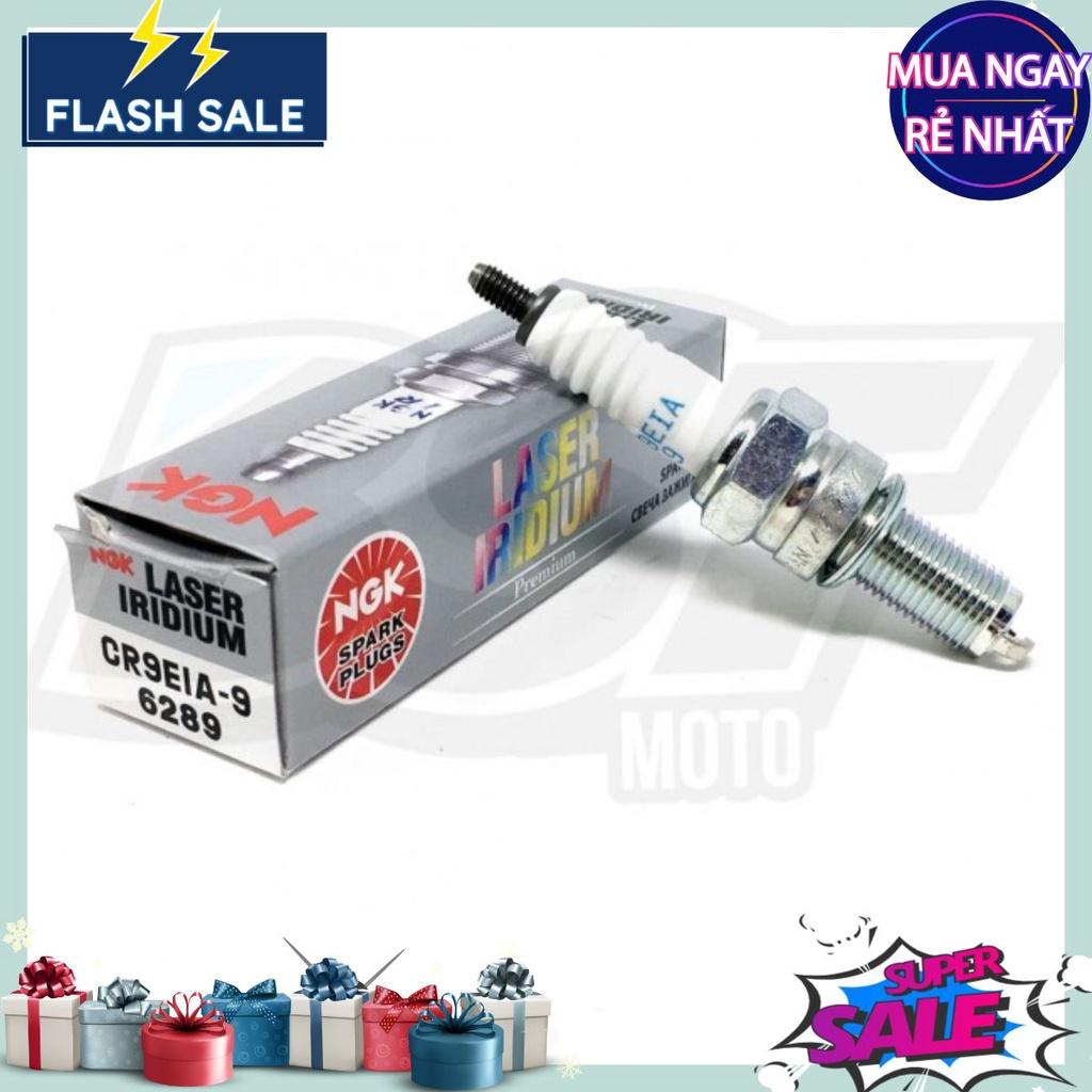 Bugi Laser Iridium NGK CR9EIA-9 cho ShVn125 150 Exciter 150 ZX10R GSX R1000