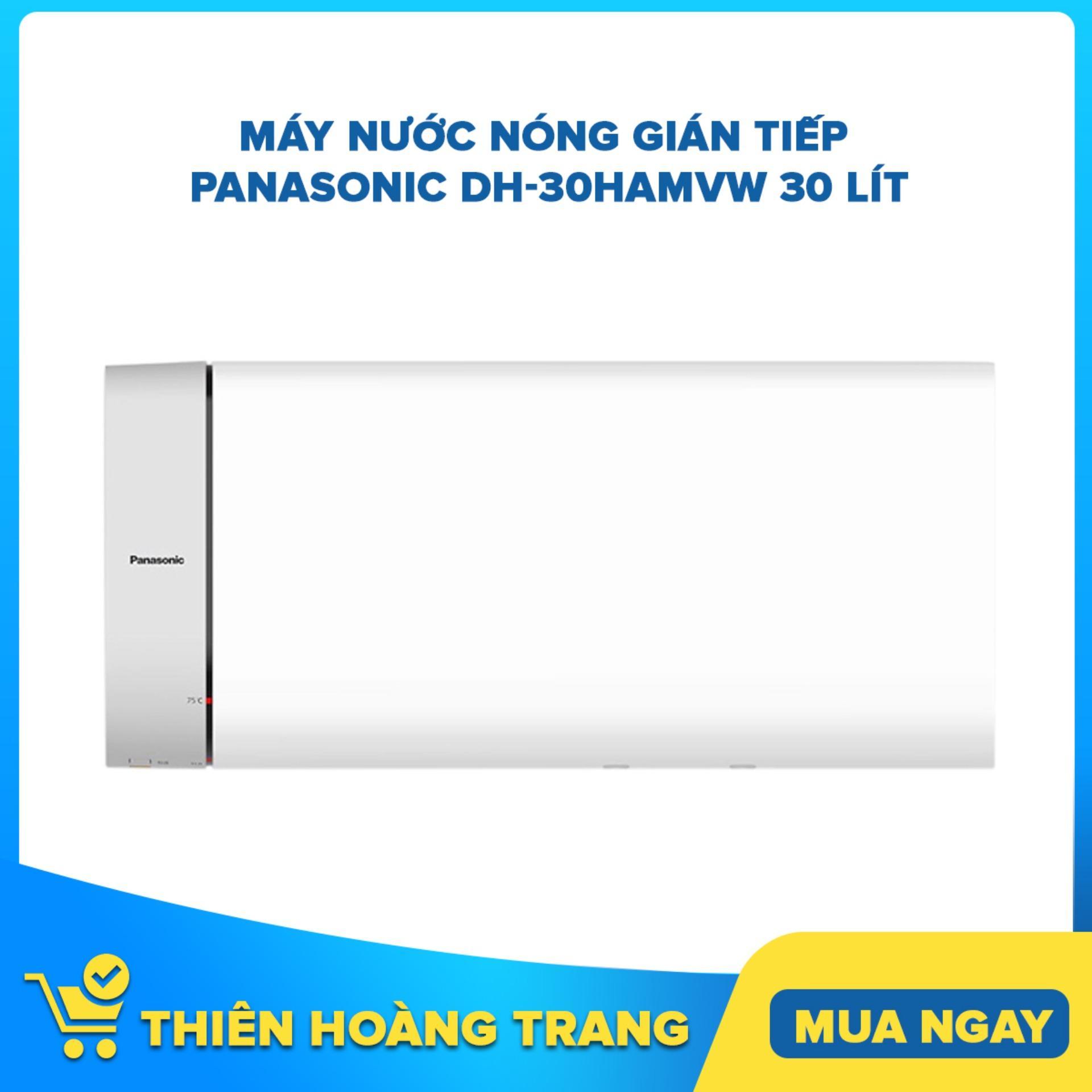 Máy nước nóng gián tiếp Panasonic DH-30HAMVW 30 lít