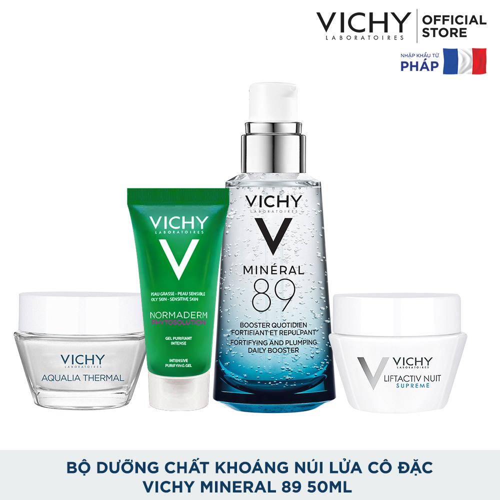 [THẦN THÁI CĂNG TRÀN] Bộ dưỡng chất (serum) chăm sóc toàn diện Vichy Mineral 89 50ml