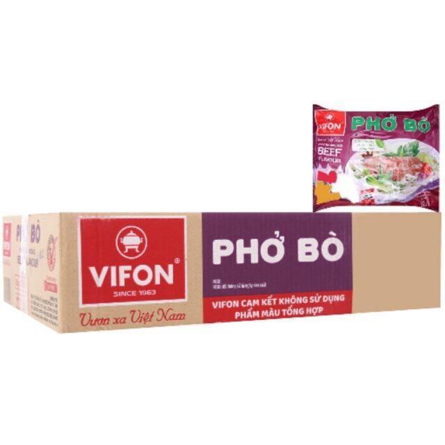 ❖  Phở bò Vifon thùng 30 gói 65g