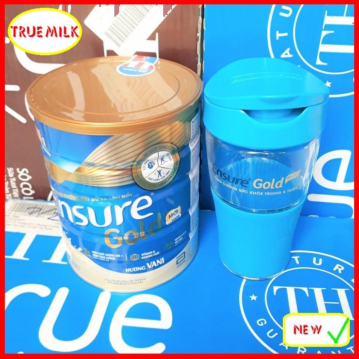 Ensure Gold 850g Vani (Tặng Ly Thủy Tinh) - Ensure Gold - Ensure Vani - Gold 850 - Ensure Vani - Gold Vani