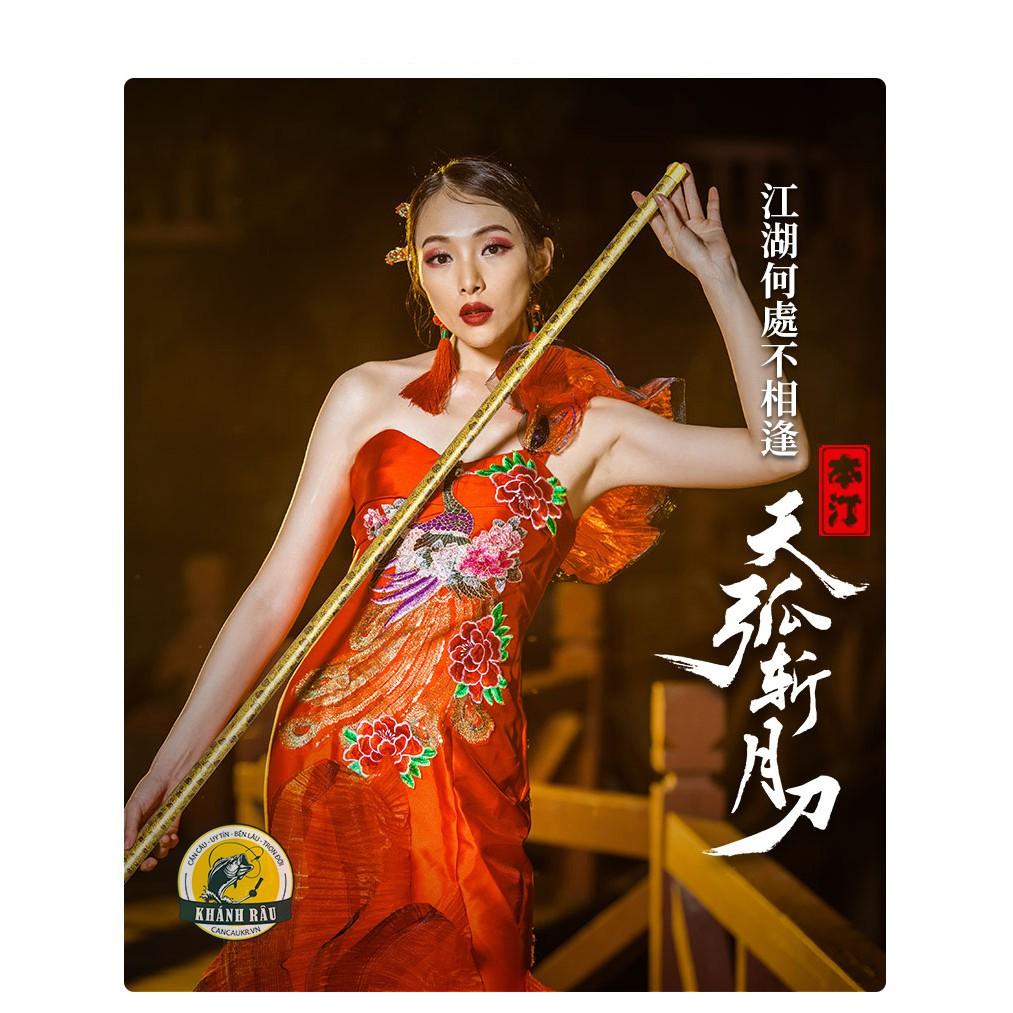 Cần tay Daiwa Benting Hoàng Bảo 5H 19i