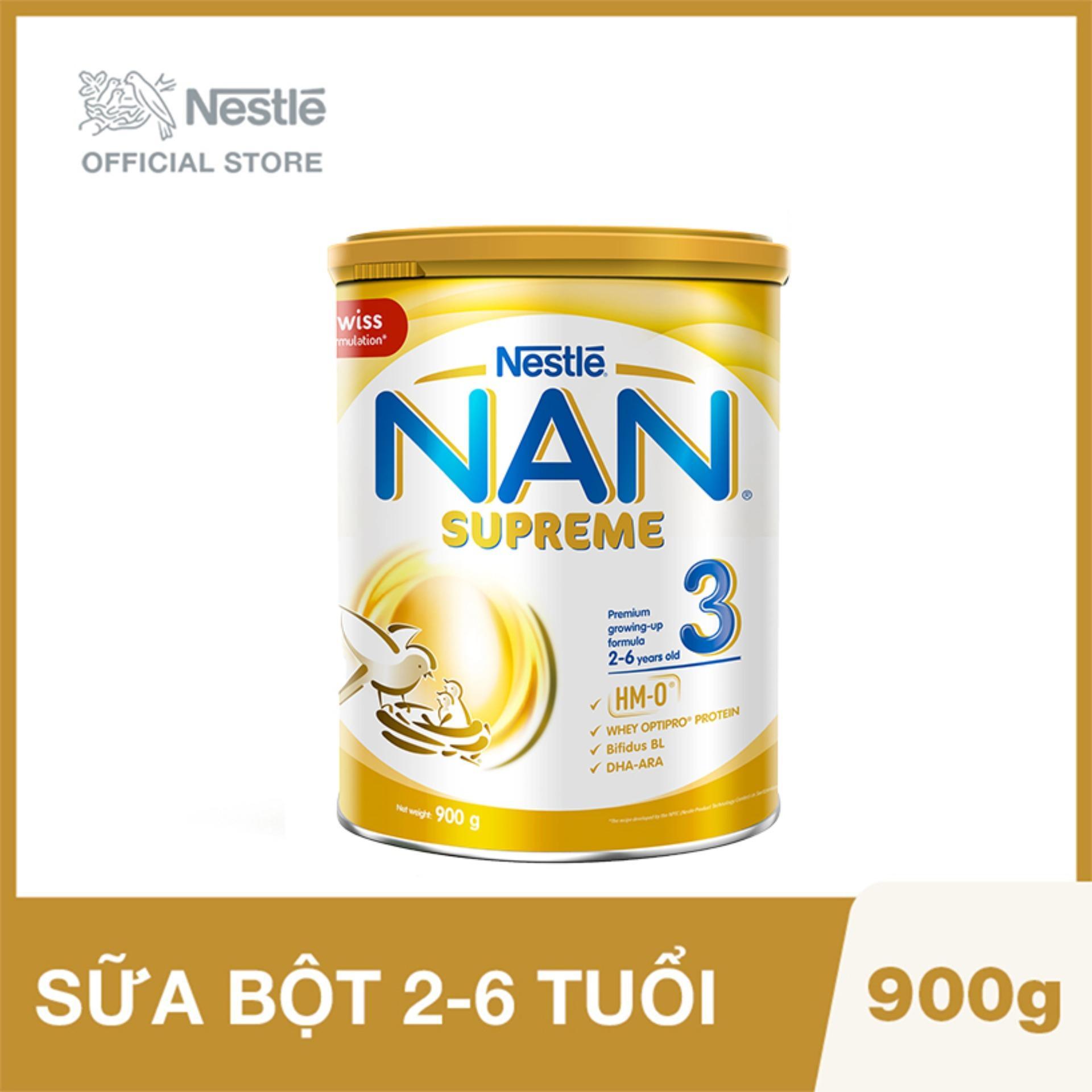 Sản phẩm dinh dưỡng công thức NAN SUPREME 3 - Lon 900g