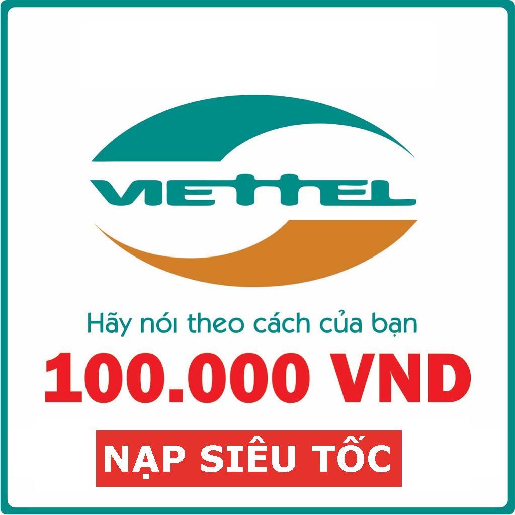 Nạp Trực Tiếp Viettel_Trả Sau 100.000VND