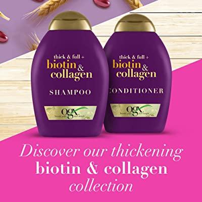 [SX tại Đức-Bill Đức]Bộ Dầu gội xả biotin collagen OGX 385ml dầu gội biotin dầu gọi chăm sóc tóc biotin dầu gọi bóng mượt tóc biotin xách tay Đức (có bill)