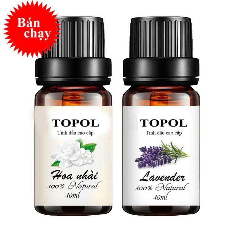 Combo tinh dầu Tinh Dầu lavender tinh dầu hoa lài 10ml