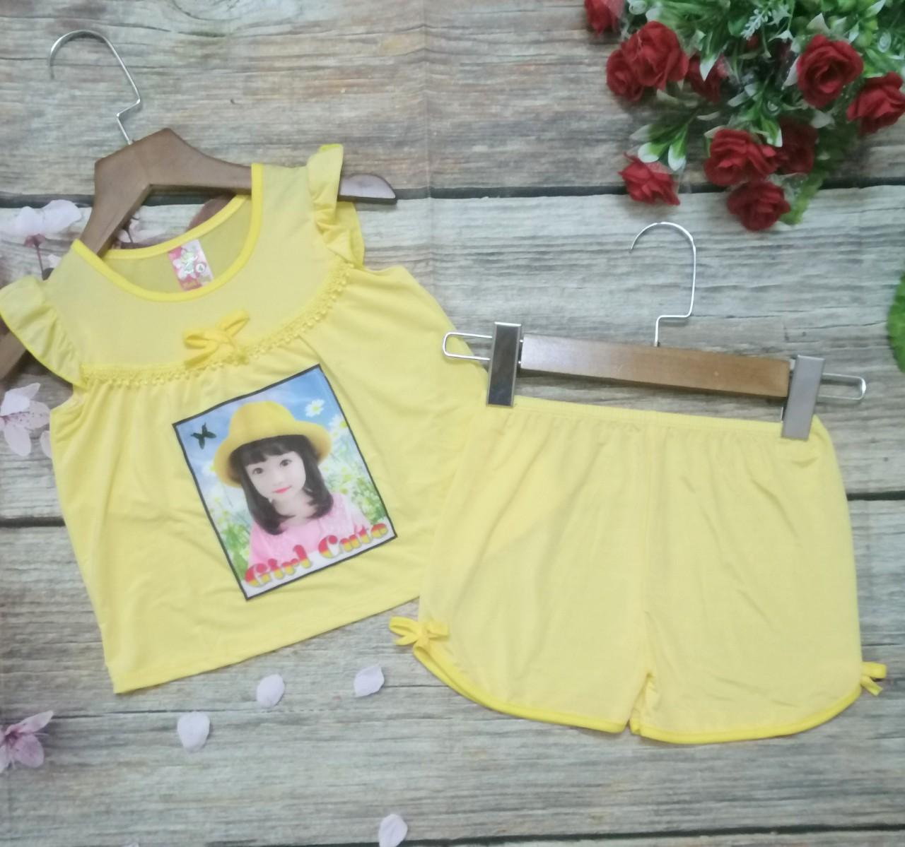 100k COMBO 3 BỘ 3 MẪU quần áo bé gái, đồ bộ cho bé gái 1-3 tuổi, đồ bộ thun lạnh bé gái NOVA SHOP