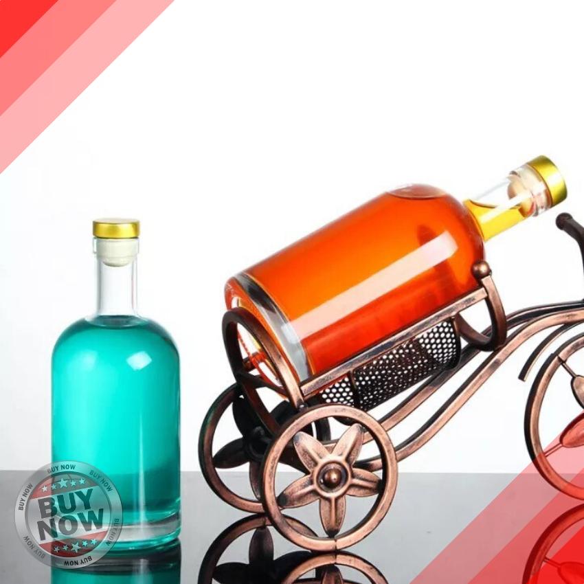 [HCM][HÀNG LOẠI 1] Chai Thủy Tinh Đựng Rượu Vodka 500ml - Chai Đựng Rượu 500ml – VK50- Chai Đựng Rượu - Bình Ngâm Rượu - Chai Rượu Kiểu – Vỏ Chai Rượu Kiểu – Vỏ Chai Rượu 500ml - Topbanchaynhat