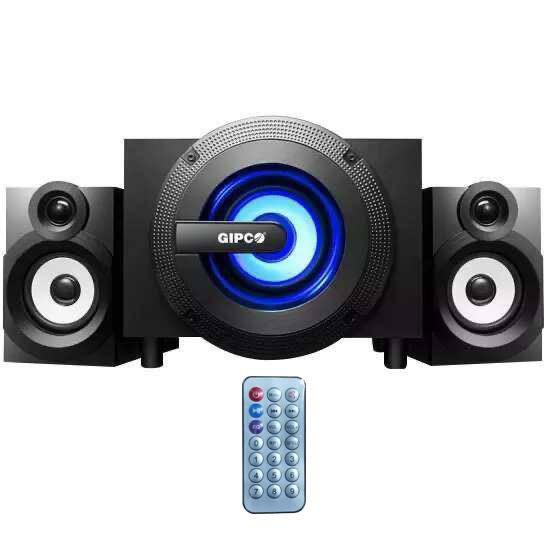 Loa máy tính GIPCO G305U/G309U - kết nối Bluetooth nghe nhạc bằng thẻ nhớ USB nghe siêu hay hàng chính hãng