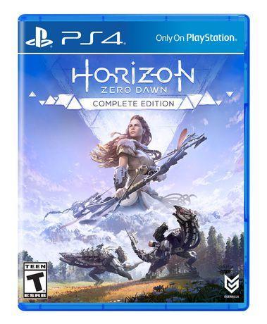 Đĩa Game PS4 - Horizon Zero Dawn Complete Edition - US