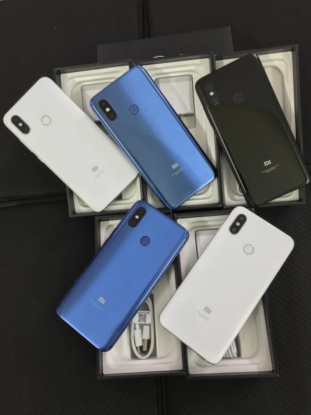 Điện thoại xiaomi mi 8 mới nguyên hộp snap 845 6gb 64gb 2 sim màn khủng 6.21 inch