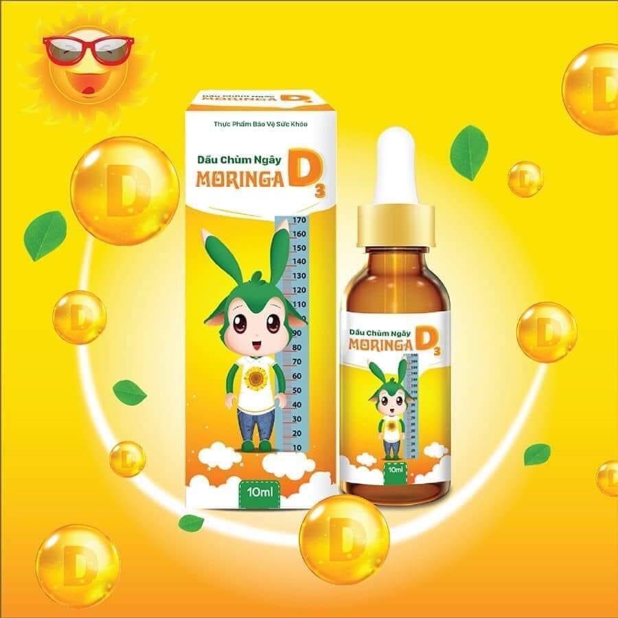 Vitamin D3- Dầu Chùm Ngây D3