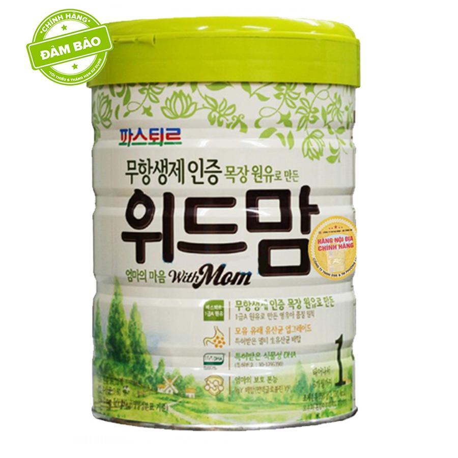 Sữa With Mom số 1 750G Hàn Quốc (0 - 6 tháng)