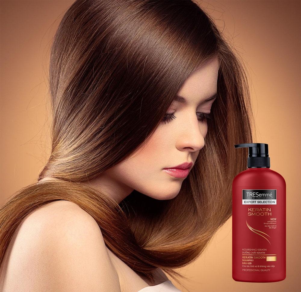 Image result for Dầu gội Tresemme tóc khô không vào nếp 650g