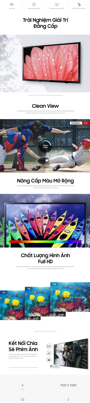 TV Full HD 40inch M5000 Samsung