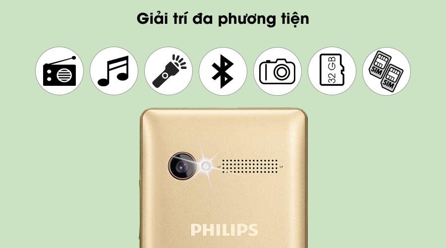 Dien thoai Philips E170