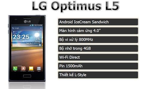 Điện thoại di động LG Optimus L5 E612