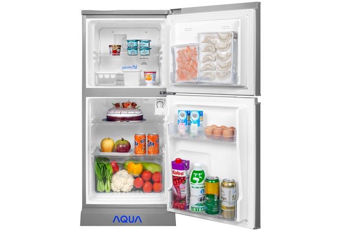 Kết quả hình ảnh cho Tủ lạnh aqua