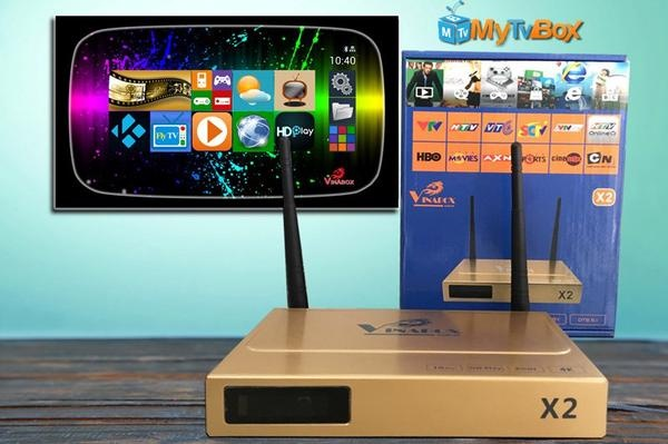 TIVI ANDROI BOX Vinabox X2 Rockchip RK3128 - Bình Dương