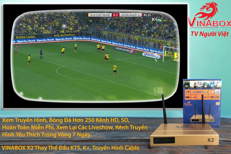 xem tv trên vinabox android