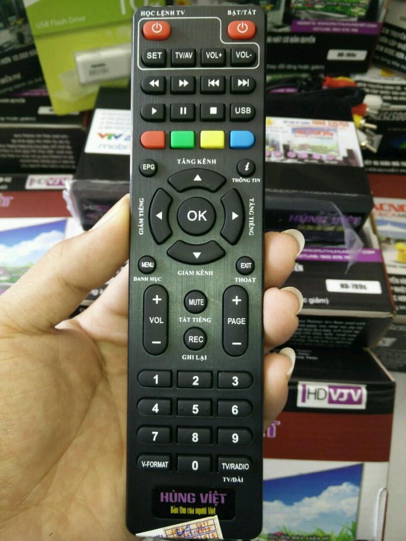 Đầu thu kỹ thuật số DVB-T2 VJV HD 789S KARAOKE 2
