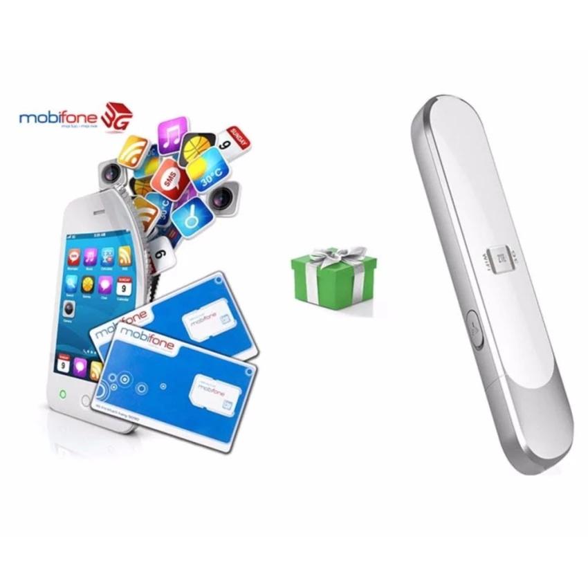 Bộ phát Wifi từ sim 3G tốc độ cao ZTE MF70 -Tặng Sim 4G