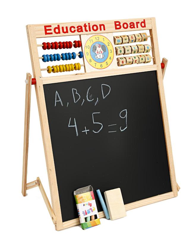 khuyen mai bang tu 2 mat education board va bo chu so cho be gia re