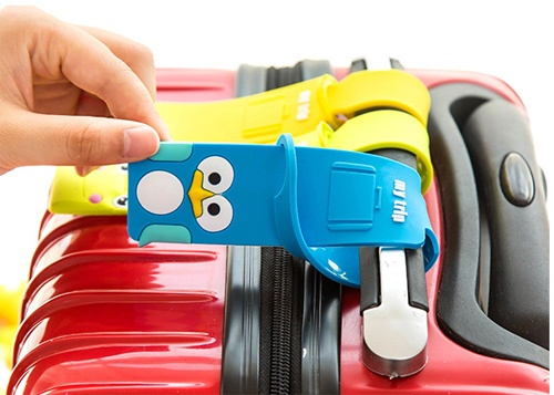 Bộ 4 Thẻ Đeo hành lý , Vali Xinh Xắn Giá Rẻ Tại Tphcm
