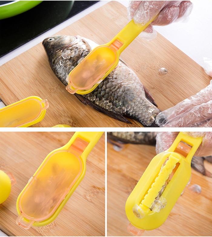 Bộ 3 Dụng Cụ Cạo Vẩy Cá Đa Năng