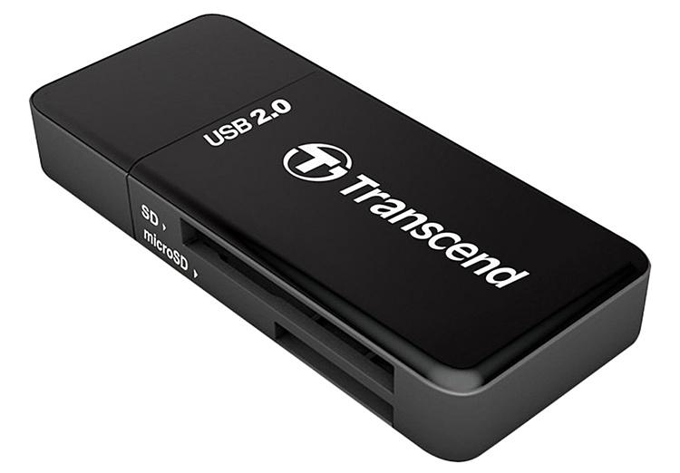 Đầu Đọc Thẻ Nhớ Transcend TS-RDP5K - USB 2.0