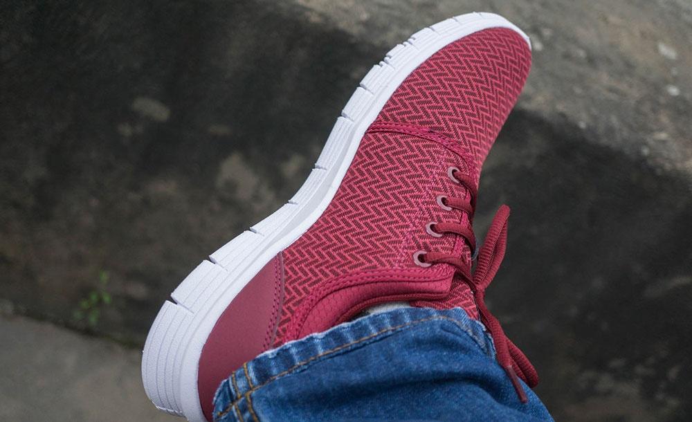 Giày thể thao cao cấp nam Hunter Biti′s DSM064233DOD (Đỏ)