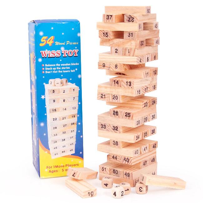 Bán buôn bộ đồ chơi rút gỗ Wiss Toy