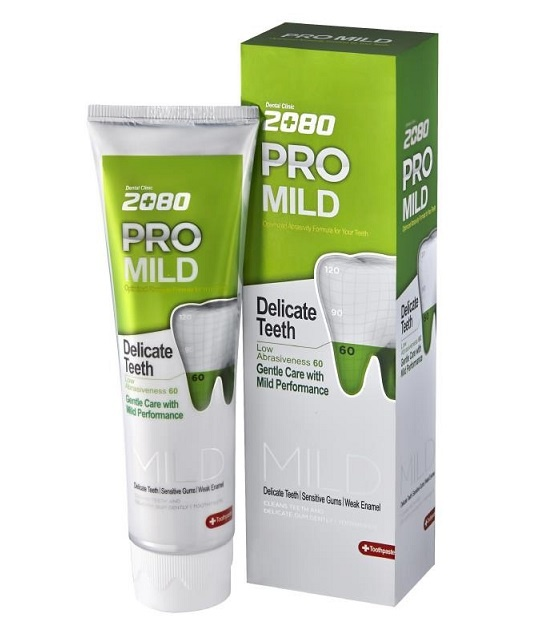Kem đánh răng Hàn Quốc 2080 Pro Mild Sensitive