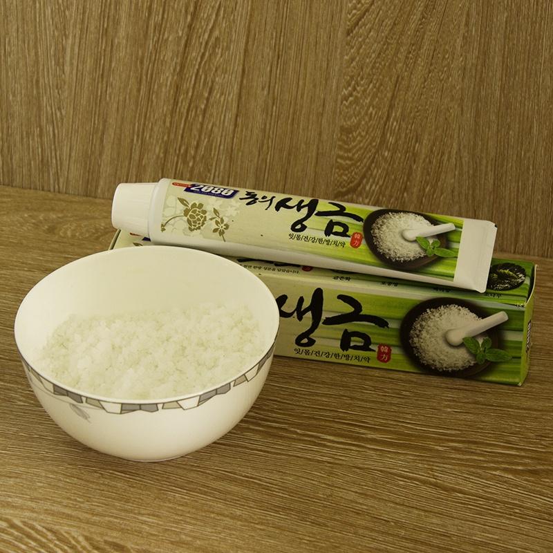 Kem đánh răng Hàn Quốc DONGEUI tinh chất thảo mộc chứa muối