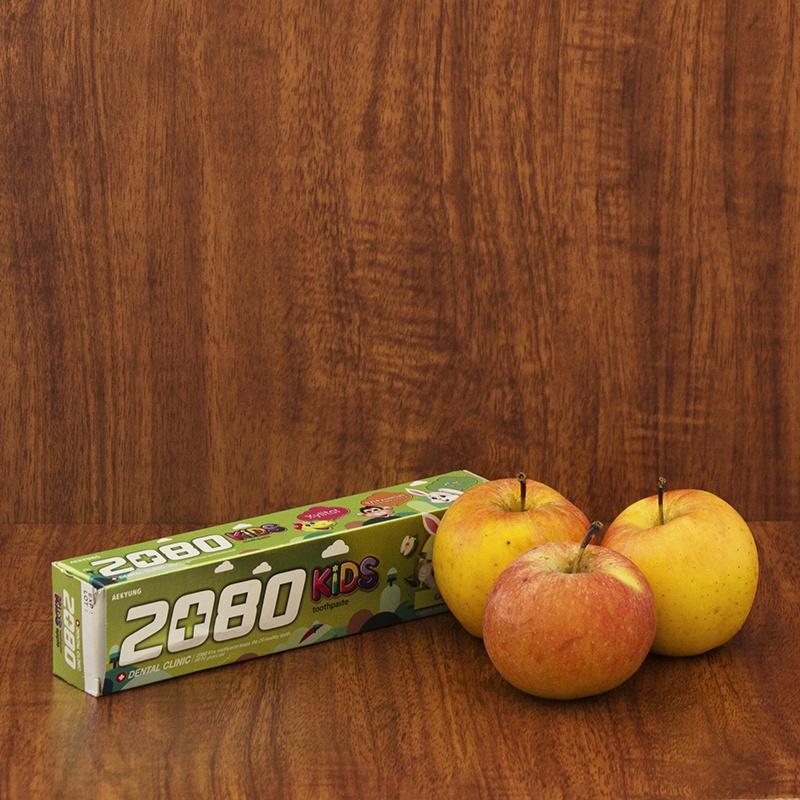 Kem đánh răng Trẻ em cao cấp Hàn Quốc 2080 KIDS hương táo