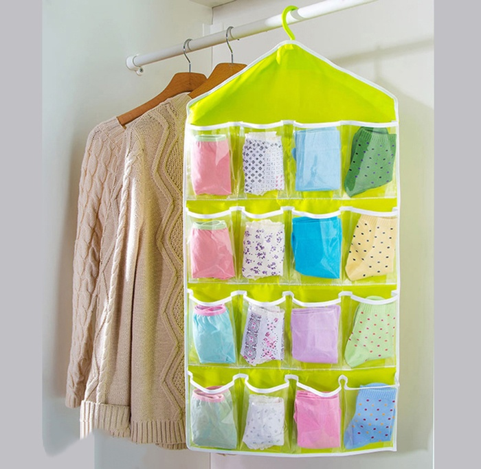 Túi vải treo đồ 16 ngăn
