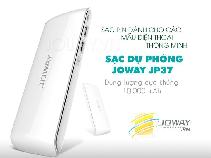 Sạc dự phòng Joway chính hãng JP37(10000 mAh) 乔威飞影JP37 移动电源