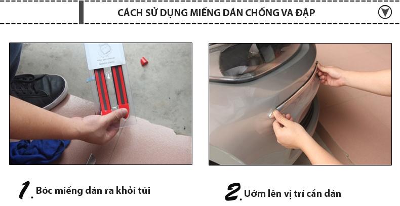 cách sử dụng dán viền chống va đập