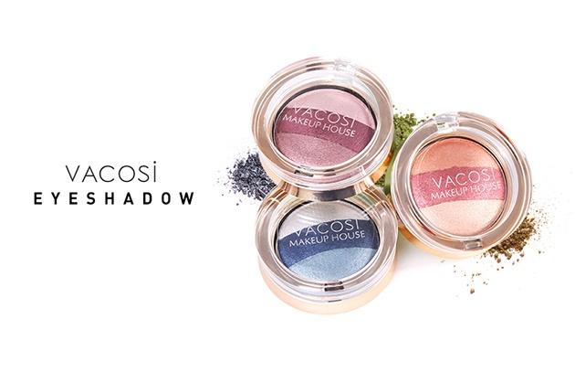 Eyeshadow Vacosi Hộp Phấn Mắt VACOSI (Mới)