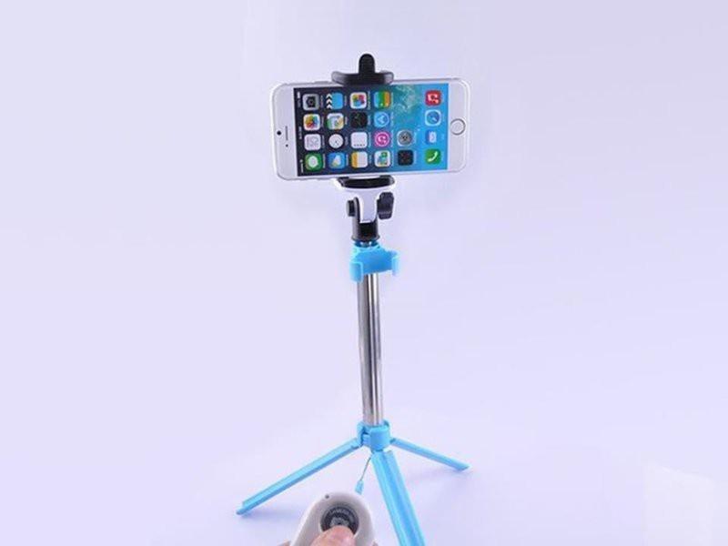 Gậy selfie kiêm tripod 2