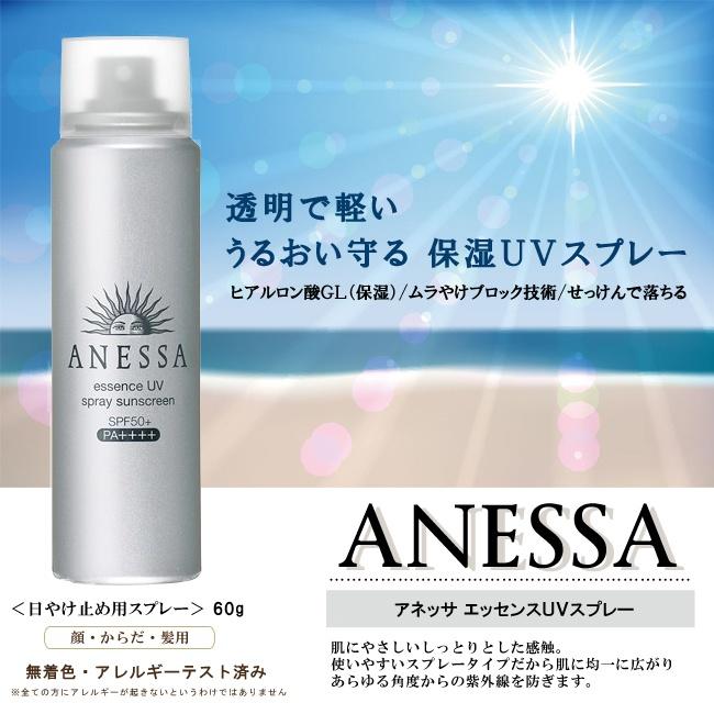 Chống nắng dạng xịt Anessa chống nắng dạng xịt anessa Chống nắng dạng xịt Anessa essence UV spray sunscreen 6