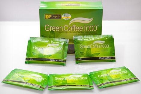 Gói trà Green Coffee